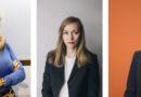 Silvia Ezquerra, Ekaterina Bukareva, y Aida Loperena, ganadoras de los XXII Premios Empresaria, Directiva y Emprendedora Navarra 2019 convocados por AMEDNA-NEEZE