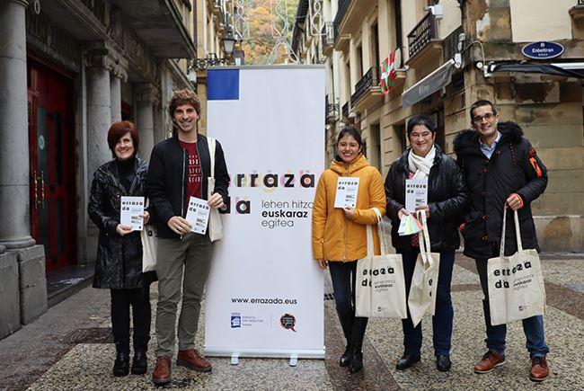 Erraza da, el proyecto para hosteleros/as de la Parte Vieja de Donostia,