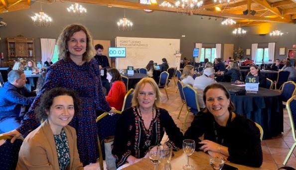 Cristina González invita a touroperadores a incluir Rioja Alavesa en sus programas de enoturismo