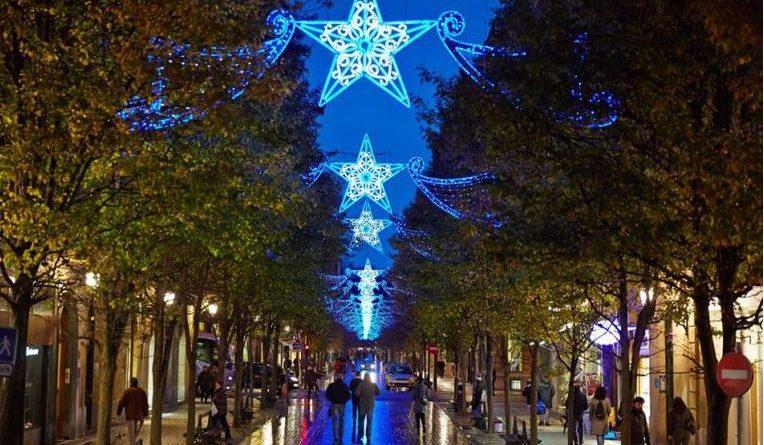 Modificaciones por el encendido de las luces de navidad,