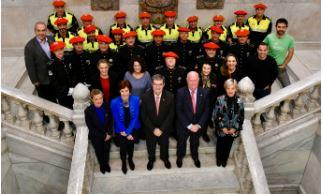 Celebración del 175 aniversario de la Policía Municipal de Bilbao,