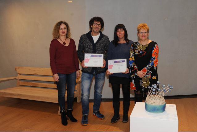 Borja Álvarez de Arcaya y Leire García, ganadores del Certamen Blas de Arratibel 2019,