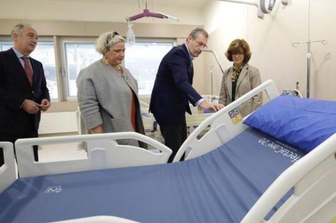 El hospital de Eibar acogerá dos unidades residenciales sociosanitarias gestionadas por la Diputación Foral de Guipúzkoa,