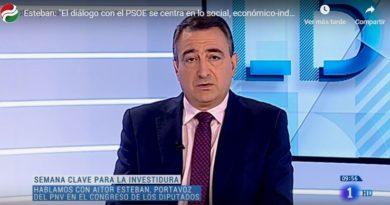 """Confirman que las conversaciones con el PSOE """"están centradas en las líneas de actuación del próximo Gobierno en el plano social, económico-industrial y territorial"""","""