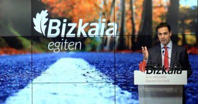Los conductores dan un notable a las carreteras de Bizkaia,