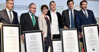 Mercabilbao recoge la A de plata Premio Vasco a la Gestión Avanzada,