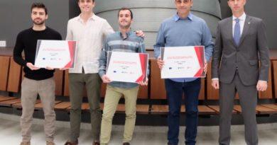 """Entregan los premios a las Startups ganadoras de la segunda edición del concurso """"Bilbao emprendimiento digital"""","""