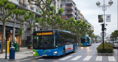 Servicios Dbus 24 y 25 de Diciembre en Donosti,