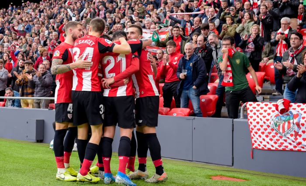 Un Athletic lanzado se consolida en puestos europeos,