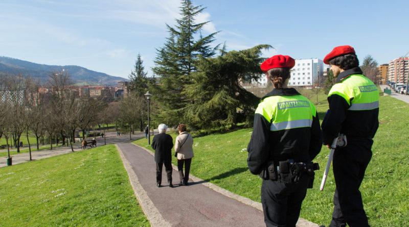 Inician las obras de ampliación de la Inspección de Begoña de la Policía Municipal de Bilbao,