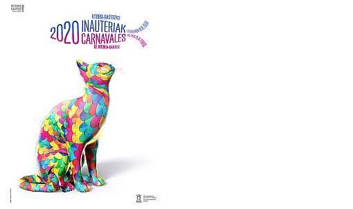'Deseo', de Rubén Alesandro Lucas García, cartel ganador de el Carnaval 2020 de Vitoria,