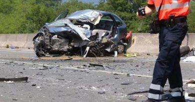 Fallece el conductor de un turismo y otro resulta herido de gravedad en un accidente de tráfico ocurrido esta mañana en Igorre,