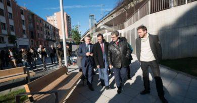 Convierten el corazón del barrio de Uribarri en un ejemplo de transformación gracias a la recuperación de La Pinza,