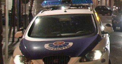 Detenido esta madrugada en Bilbao un varón de 24 años acusado de un robo con fuerza en un colegio del barrio bilbaíno de Zabala,
