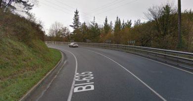 Detenido en Muxika tras una persecución por conducir de forma temeraria poniendo en peligro a otros conductores,