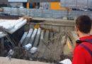 Cinco trabajadores heridos en un edificio en construcción en Navarra
