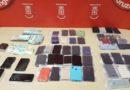 Detenidos en Irurtzun con más de medio centenar de móviles robados en Donostia durante la tamborrada