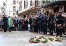 En memoria de Gregorio Ordóñez, el consistorio coloca una placa en su homenaje