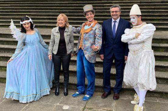 Las acrobacias del Cirque du Soleil llegan a la Casa Palacio de la Diputación de Álava,