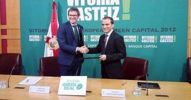 Ayuntamiento y Ente Vasco de la Energía aúnan fuerzas para el impulso de proyectos de energía renovable en Vitoria-Gasteiz