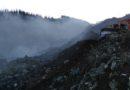 Las máquinas comienzan a sofocar el incendio del vertedero de Zaldibar