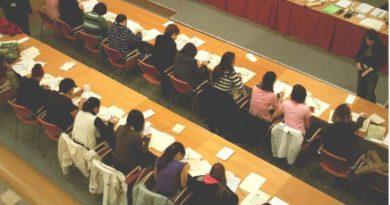 El Servicio de Archivos de Álava imparte talleres de escritura antigua para alumnado de institutos