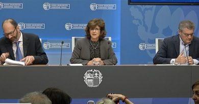 Anuncian la constitución de una mesa interdepartamental en Euskadi para abordar el coronavirus,