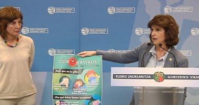Extienden la suspensión temporal de clases a todos los centros educativos de Bizkaia y Gipuzkoa para frenar la expansión del coronavirus en Euskadi,