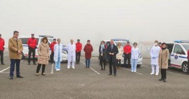 El Lehendakari visita Arkaute para conocer el nuevo operativo conjunto de Seguridad y Salud,