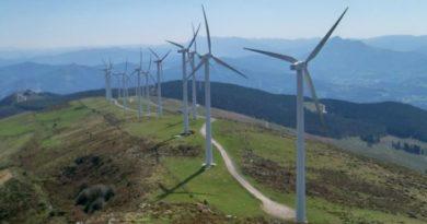 Registradas rachas de viento del sureste de 106,6 km/h en el monte Oiz, en Munitibar,