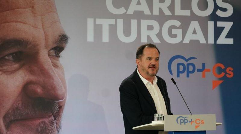 """Iturgaiz condena los altercados """"irracionales"""" protagonizados por 'negacionistas' en Bilbao,"""