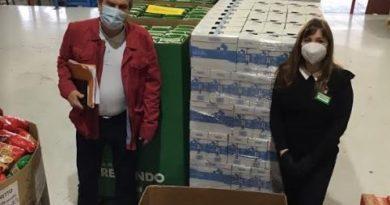 Mercadona dona más de 49.000 kilos de productos de primera necesidad al Banco de Alimentos de Gipuzkoa,