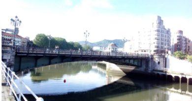 Bilbao puente del Arenal Coronavirus