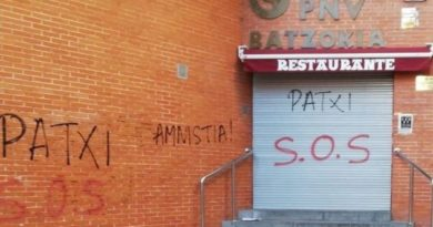 """El PNV condena los nuevos ataques a batzokis y pide a EH Bildu que se desvincule """"de manera clara y categórica"""","""