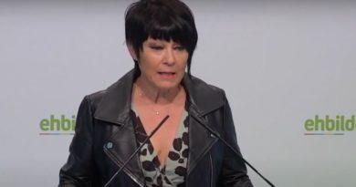 """EH Bildu dice que """"se ha cruzado una línea"""" con el ataque al domicilio familiar de Mendia,"""