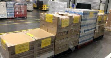 Mercadona, en colaboración con la Ertzaintza, entrega más de 1.500 kilos de alimentos al convento Sierva de Jesús de Bilbao,