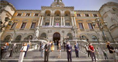 Aburto realizará en el Pleno de este martes una reflexión sobre la situación de Bilbao en tiempos de pandemia,