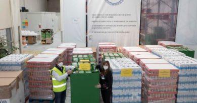 Mercadona dona 56.000 kilos de alimentos a entidades benéficas de Álava,