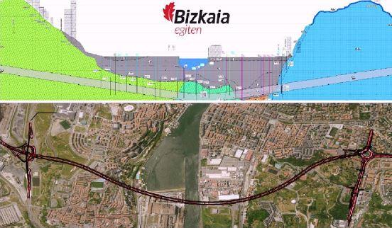 La Diputación Foral de Bizkaia adjudica el proyecto de construcción del túnel bajo la ría,