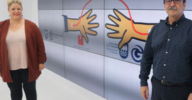 """La Diputación se ha unido a la inciativa Donantes de Sangre, quien ha lanzado una campaña para concienciar la  """"solidaridad"""" entre la ciudadania,"""