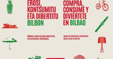 Arranca en Bilbao la campaña de comunicación para apoyar y promocionar el comercio y hostelería,