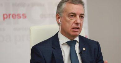 """Urkullu espera que el Gobierno """"atenderá"""" la petición de otra política penitenciaria que acerque presos no sólo de ETA,"""