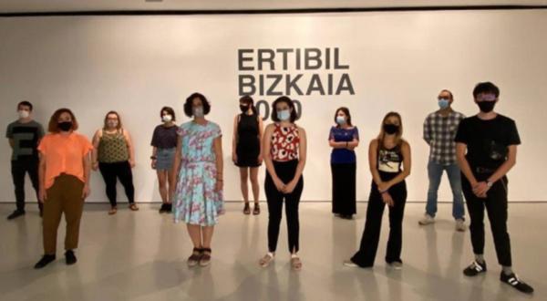 La 38 edición de Ertibil Bizkaia comienza en la Sala Rekalde con las obras de 18 artistas,