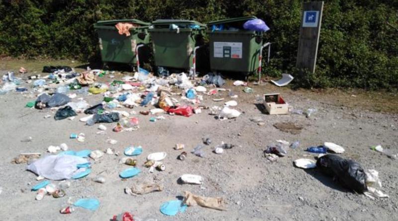 Gipuzkoa solicita un uso responsable de las áreas recreativas de los montes públicos,