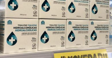Mercadona incorpora en sus tiendas toallitas hidroalcohólicas para manos y vende 12.000 unidades diarias,