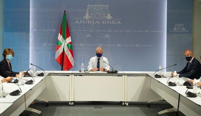 EL Lehendakari, Iñigo Urkullu, preside la comisión de seguimiento del Covid-19 - M.ARRAZOLA/EJ-GV / MIKEL ARRAZOLA