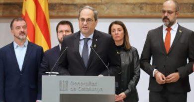 """PNV y EH Bildu dicen que la inhabilitación a Torra supone """"una agresión al autogobierno y un despropósito"""","""