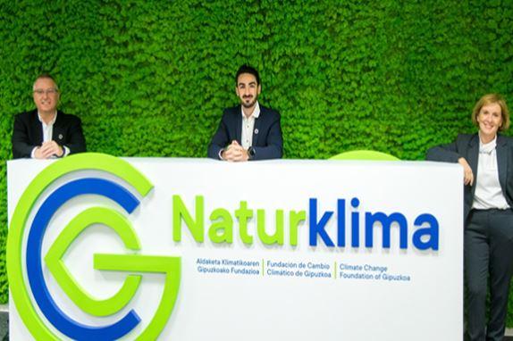 La Fundación de lucha contra el Cambio Climático de Gipuzkoa, Naturklima, incorpora a su nuevo director,