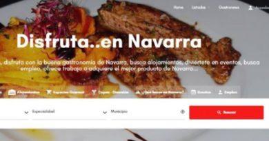 Si viajas a Navarra, un buscador te permite encontrar bares, restaurantes, alojamientos…lo que necesites,