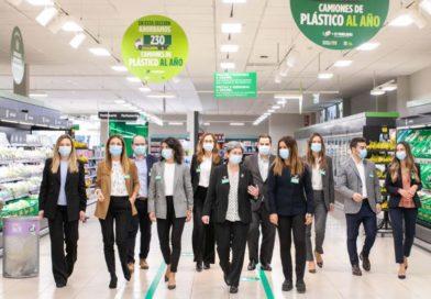 Mercadona acelera su estrategia para reducir el plástico con una inversión de más de 140 millones de euros,
